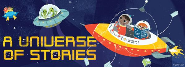 A Universe of Stories Logo Image